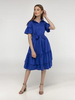 Платье цвета электрик | 5398895
