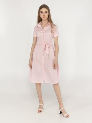 Сукня кольору пудри | 5398915