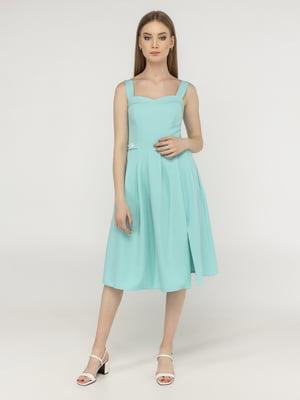 Платье мятного цвета | 5398919
