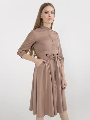 Платье бежевое | 5398945