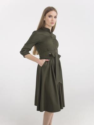 Сукня кольору хакі | 5398948