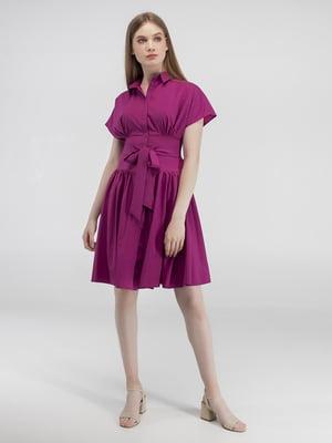 Сукня ягідного кольору | 5398997