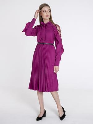 Сукня ягідного кольору | 5399021