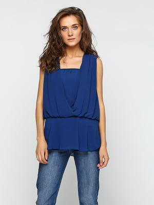 Блуза синяя | 5399285