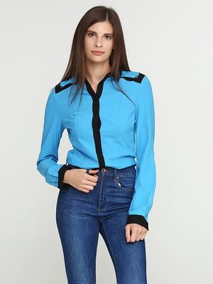 Рубашка-боди голубая   5399287