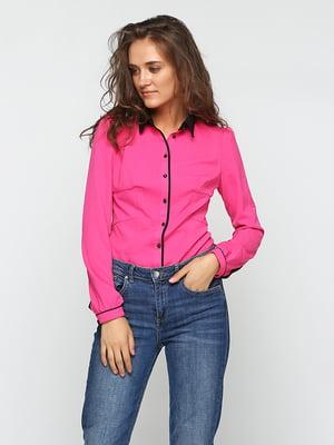 Рубашка-боди малинового цвета   5399291
