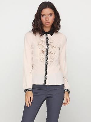 Блуза бежева | 5399298