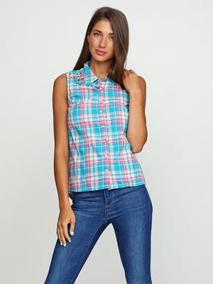 Рубашка в клетку   5399301