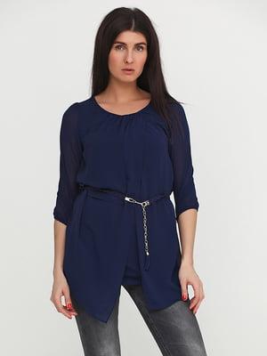 Блуза синяя | 5399312