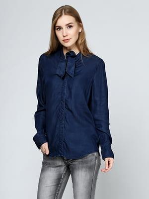 Блуза синяя | 5399333