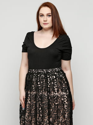 Блуза-боді чорна   5399373