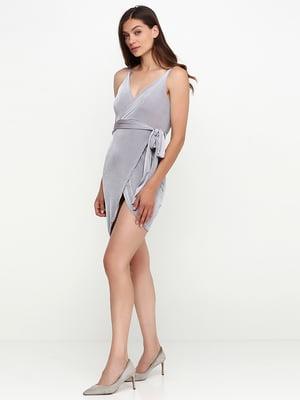 Платье серое | 5399392
