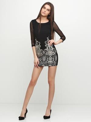 Сукня чорна з вишивкою | 5399393