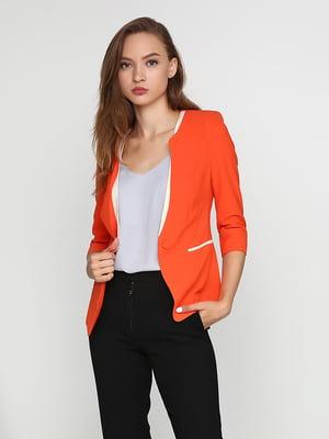 Жакет оранжевый | 5399265