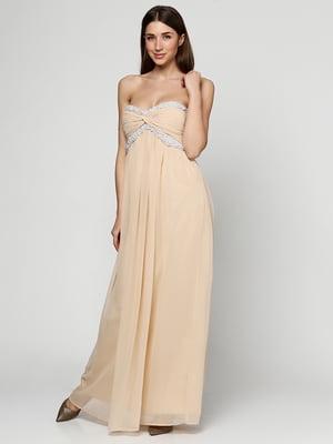 Сукня бежева | 5399323