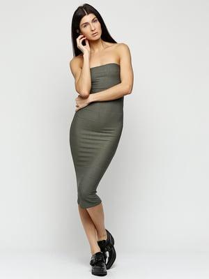 Сукня оливкового кольору   5399365