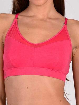 Топ спортивный розовый | 5399730