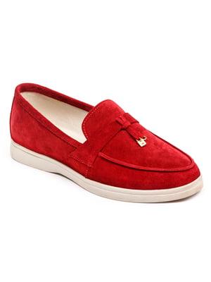 Лоферы красные | 5399236