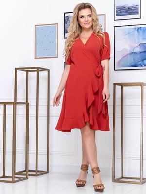Платье цвета чили | 5400892