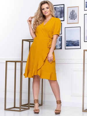 Сукня гірчичного кольору | 5400893