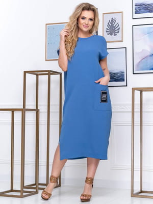Платье синее | 5400898