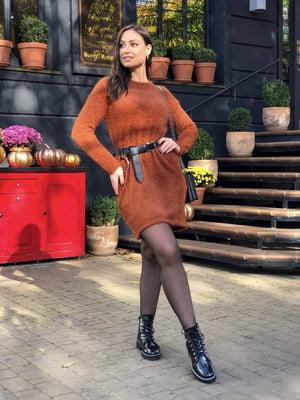 Платье терракотового цвета | 5400950