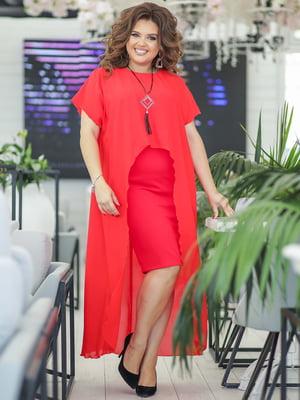 Платье красное | 5400973
