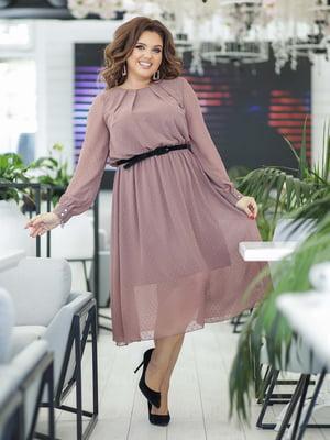 Сукня кольору мокко | 5400977