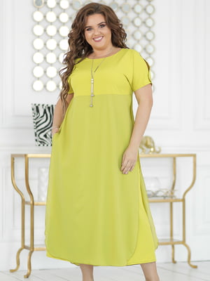 Платье цвета лайма | 5401000