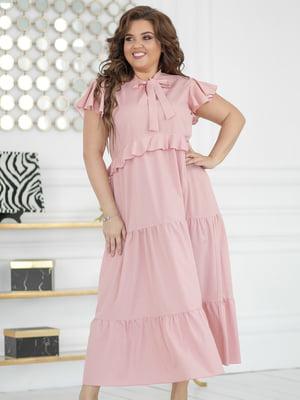 Платье цвета пудры | 5401031