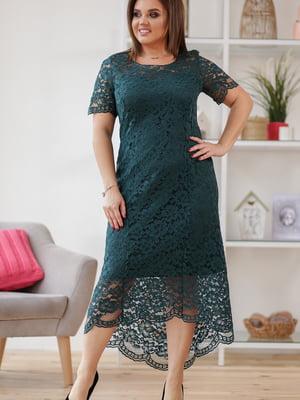 Сукня смарагдового кольору | 5401036
