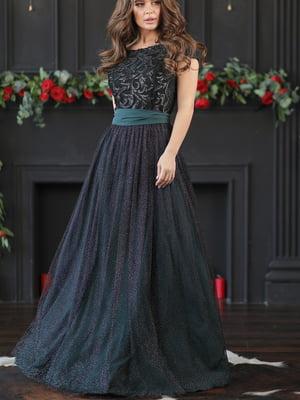 Платье изумрудного цвета | 5401066