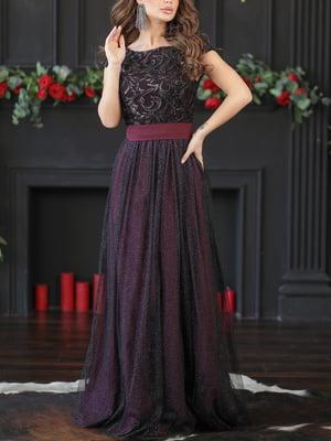 Платье цвета марсала | 5401067