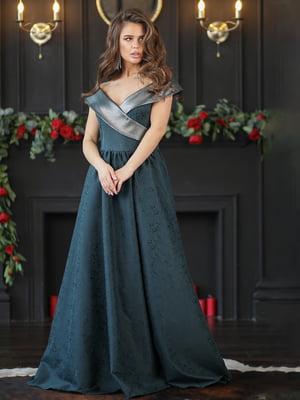 Платье изумрудного цвета | 5401075