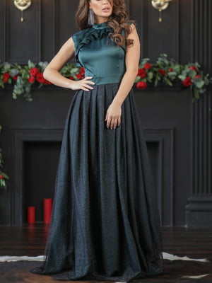 Платье изумрудного цвета | 5401077