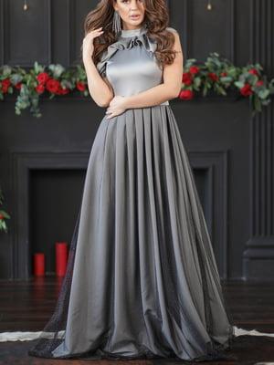 Платье серебристого цвета | 5401078