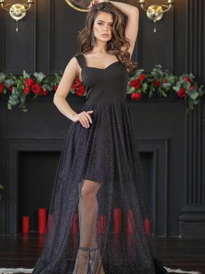 Платье черное | 5401096