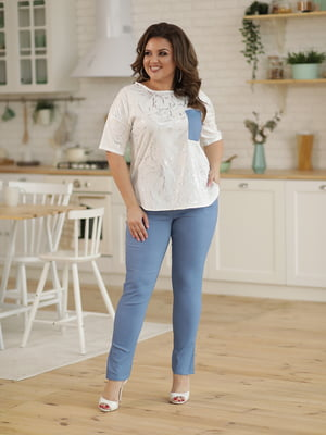 Костюм: блуза и брюки | 5401100