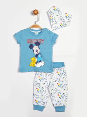 Комплект: майка, брюки и бандана   5401246