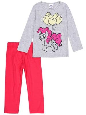 Пижама: лонгслив и брюки | 5401667