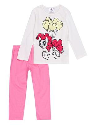 Пижама: лонгслив и брюки | 5401668