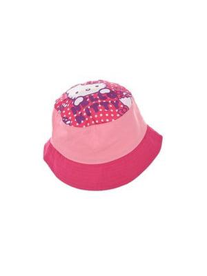 Панамка рожева з принтом | 5401834