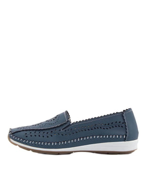 Туфли синие   5401923