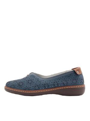 Туфли синие   5401924