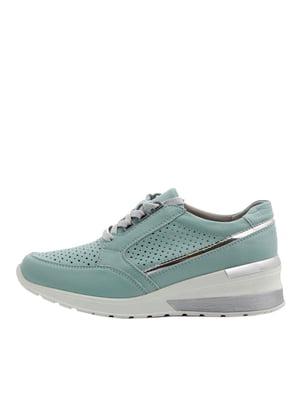 Кросівки зелені | 5401931