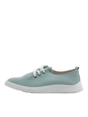 Туфлі зелені | 5401938