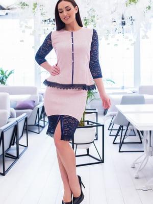 Костюм: блуза і спідниця | 5379682