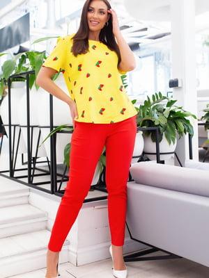 Костюм: блуза і штани | 5379686