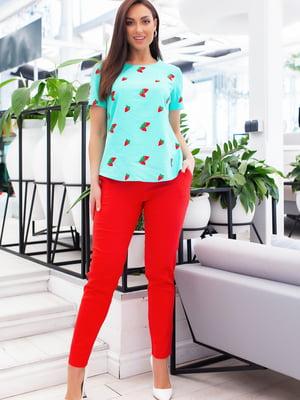 Костюм: блуза и брюки | 5379687