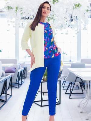 Костюм: блуза, брюки и жакет   5379692